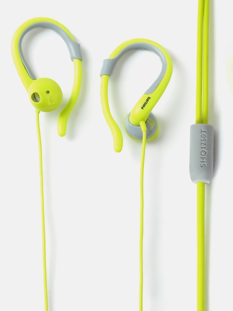 Philips Unisex Green ActionFit Wired Earphones SHQ1250TLF/00