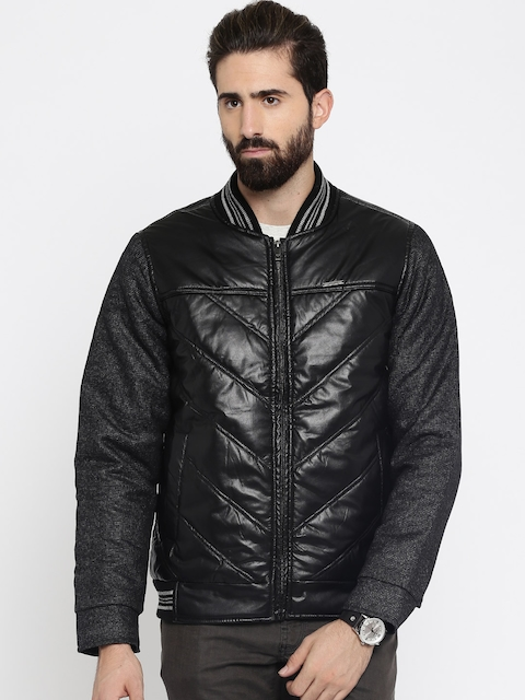 HARVARD Black Biker Jacket