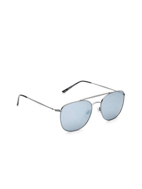 I DEE Unisex Mirrored Square Sunglasses EC1402
