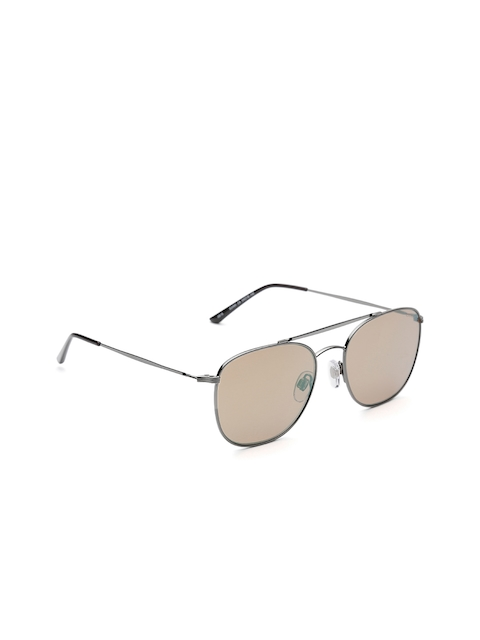 I DEE Unisex Mirrored Square Sunglasses EC1379