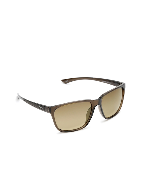 I DEE Unisex Mirrored Rectangle Sunglasses EC1437