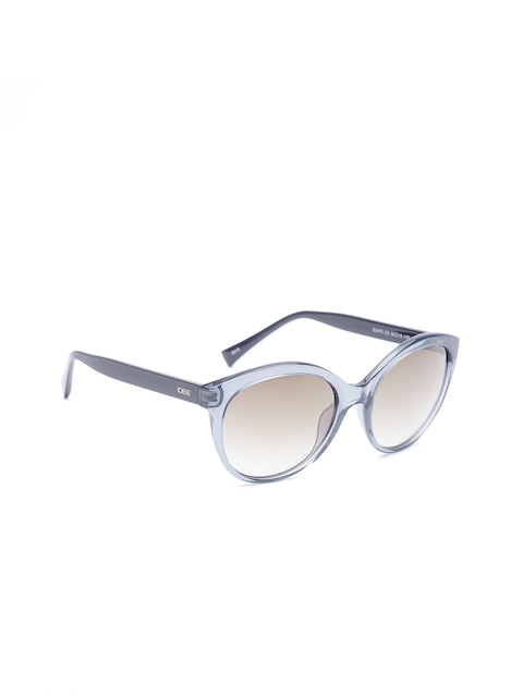I DEE Unisex Mirrored Cateye Sunglasses EC1427