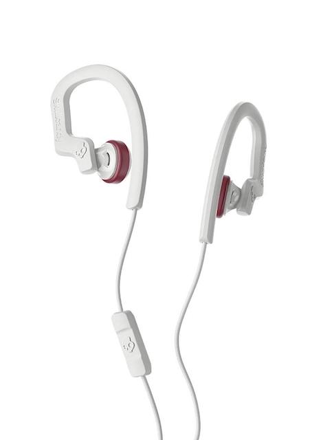 Skullcandy Grey & Red Chops Flex Sports Performance Vice In-Ear Earphones S4CHY-L678