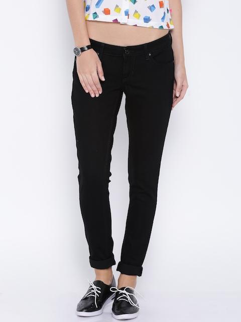 Lee Black Maxi Super-Skinny Jeans