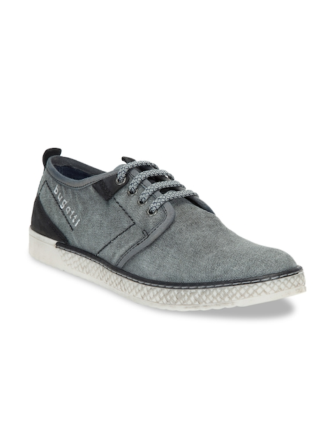 Bugatti Men Grey Sneakers