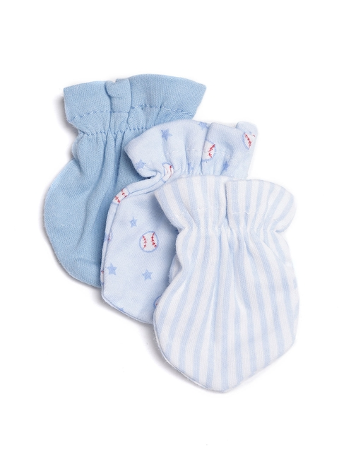Mothers Choice Boys Pack of 3 Mittens