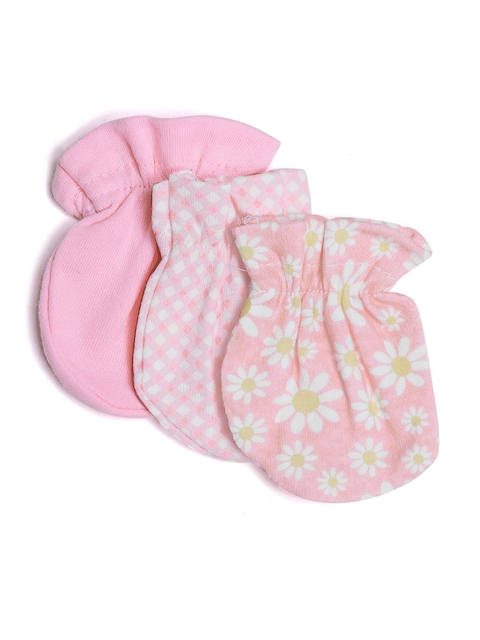 Mothers Choice Girls Pack of 3 Mittens