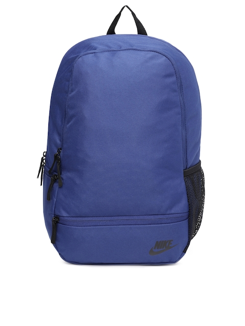 Nike Unisex Blue Solid Classic North Backpack