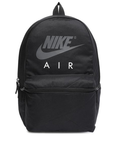 Nike Unisex Black Brand Logo Air Backpack