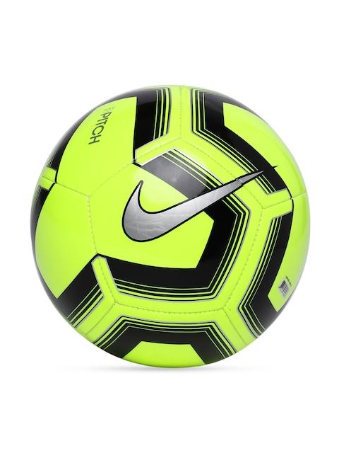 Nike Fluorescent Green & Black Pitch Training Football