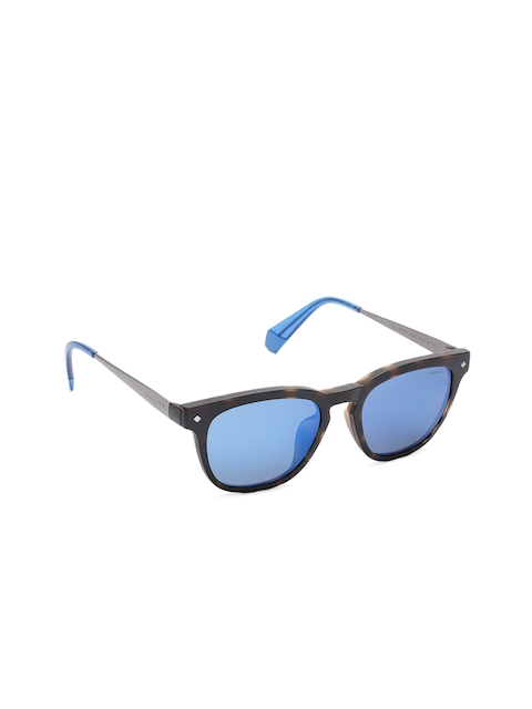 Polaroid Unisex Oval Sunglasses 6080/G/CS IPR 505X