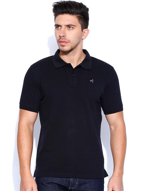 Wrangler Black Polo T-shirt