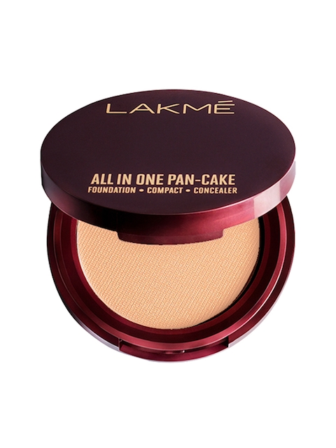 Lakme Natural Coral All In One Pan-Cake Compact 8 g