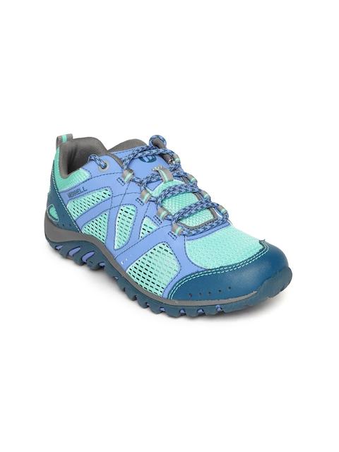 Merrell Women Sea Green Hiking Shoes