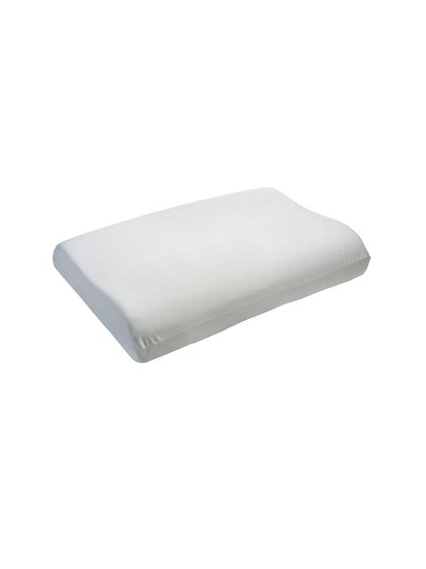 The White Willow Unisex Off-White Therapedic Memory Foam Pillow