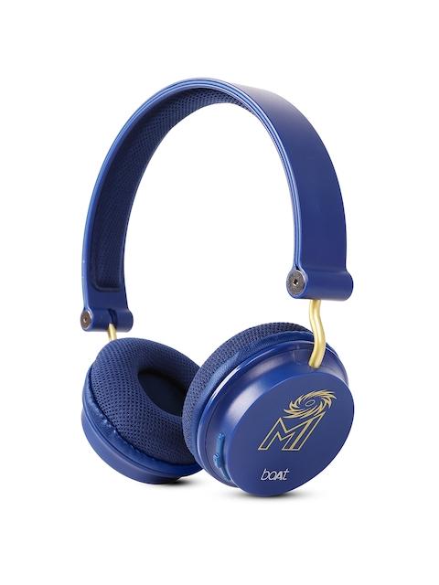 fe8c4fa3ee4 55%off boAt Blue Mumbai Indians Edition Rockerz 400 Bluetooth Wireless  Headphone 8904130847271