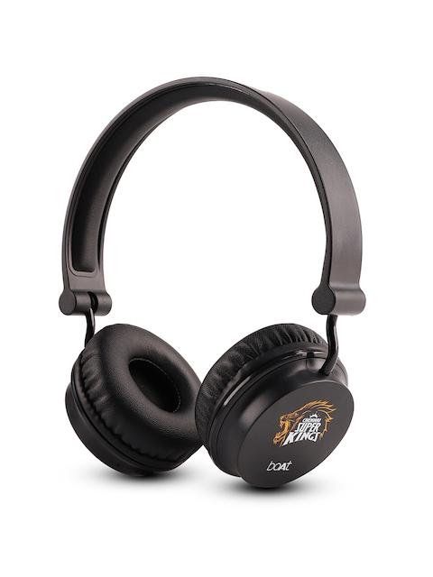 boAt Rockerz Black 400 Chennai Super Kings Edition Headphones