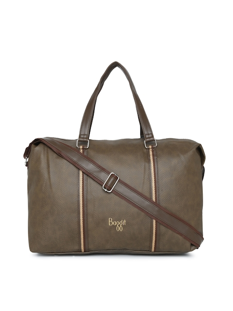 Baggit Brown Solid Handheld Bag