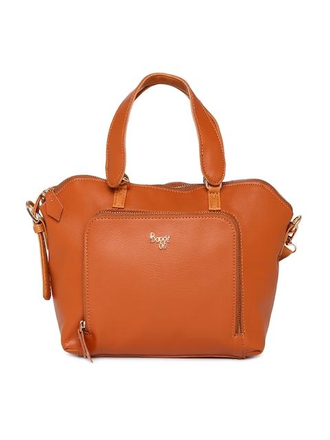 Baggit Orange Solid Handheld Bag