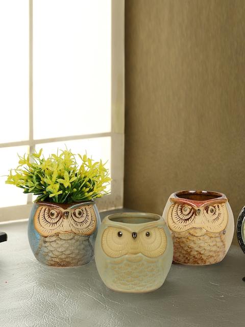 Aapno Rajasthan Multicoloured Ceramic Flower Vase