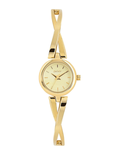 DKNY Women Gold-Toned Dial Watch NY2170I