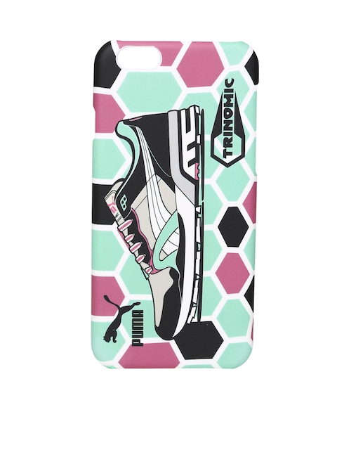 PUMA Unisex Mint Green & Black Bytes Art Printed iPhone 6 Phone Case