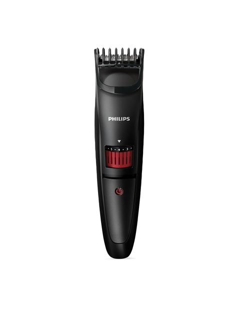 Philips Men Black Pro Skin Advanced Series 3000 Beard Trimmer QT4005