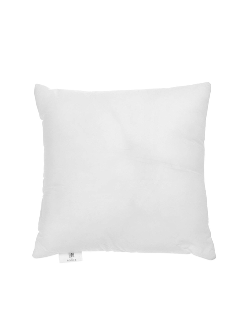 ROMEE White Solid Microfibre Square Cushion