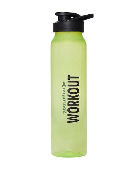 3d65b1d11 Sportigoo Unisex Green   Black PRO-Z Translucent Water Bottle 1 Litre