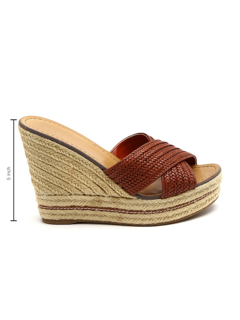 ALDO Women Brown Wedges