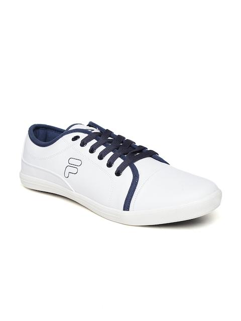 FILA Men White Lavadro II Casual Shoes