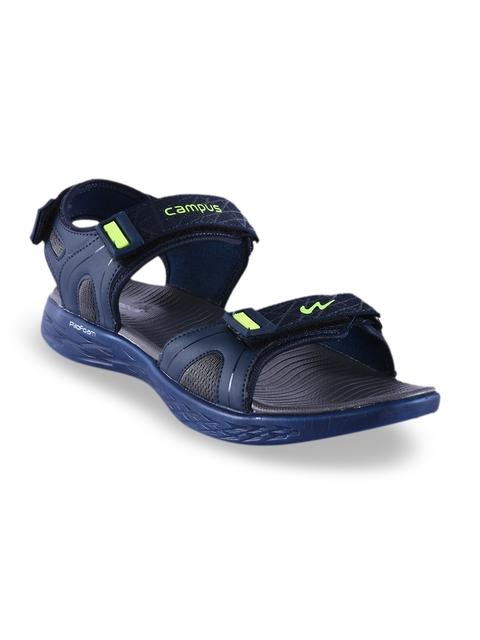 Campus Men Navy Blue Sandals