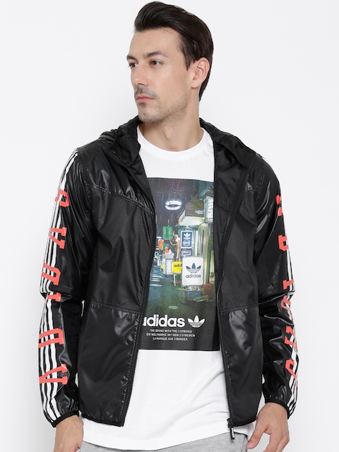 Adidas NEO Black M RFLCT WB Hooded Jacket