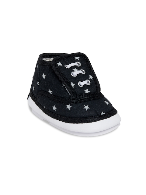 My Soul Kids Black Printed Boots
