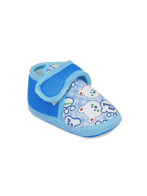 My Soul Kids Blue Printed Boots