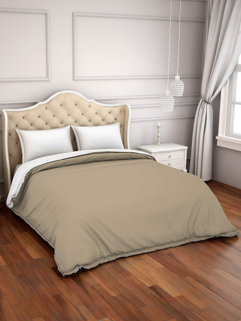 SPACES Taupe 150GSM Double Bed Duvet Cover
