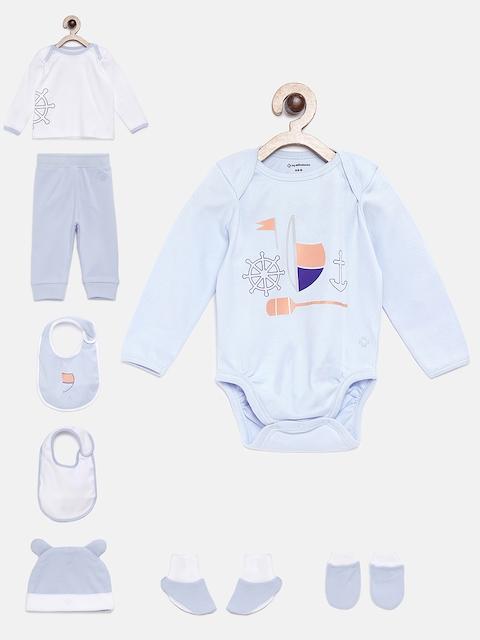 My Milestones Unisex Blue Clothing Gift Set