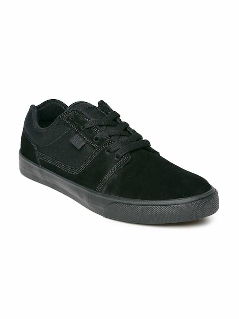 DC Men Black Suede Casual Shoes