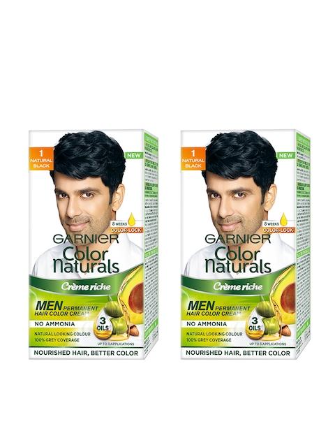 Garnier Men Set of 2 Natural Black Naturals Hair Colour
