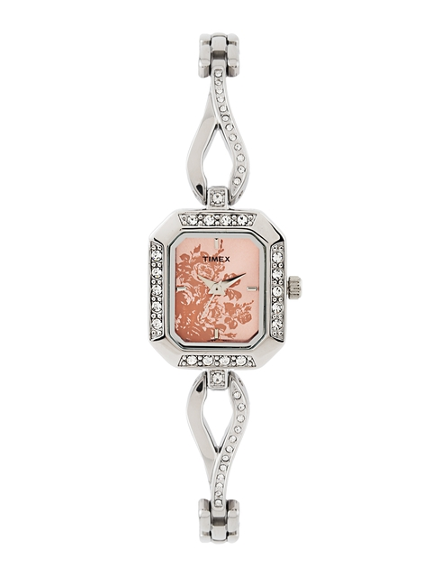 Timex Women Pink Dial Watch TW000X605