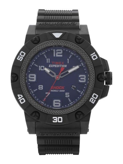 Timex Expedition Men Navy Analogue Watch TW4B011006S