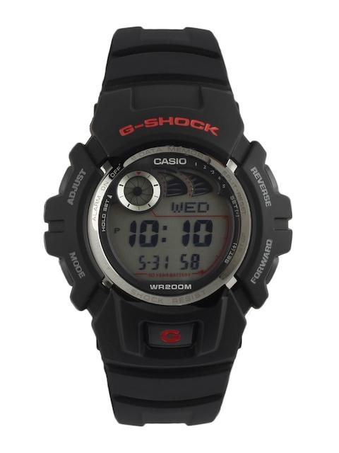 Casio G Shock Digital Grey Dial Men's Watch, G-2900F-1VDR (G190)