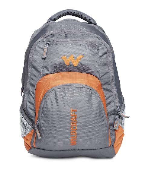 Wildcraft Unisex Grey Hopper 2 Textured Laptop Backpack