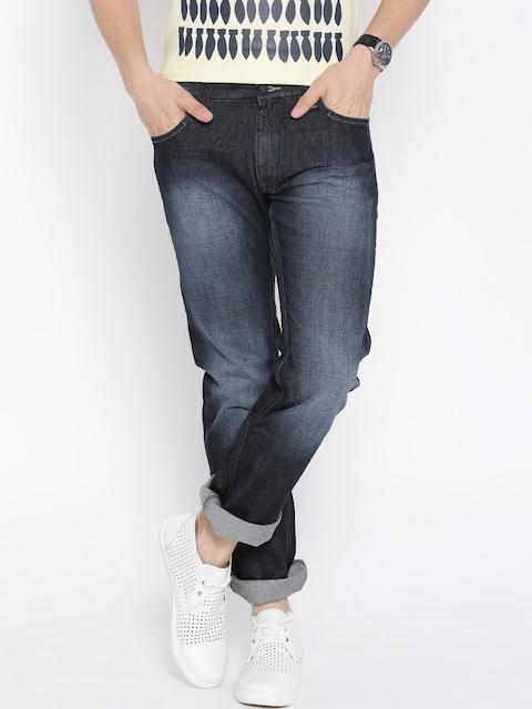 Lee Dark Blue Powell Slim Fit Jeans