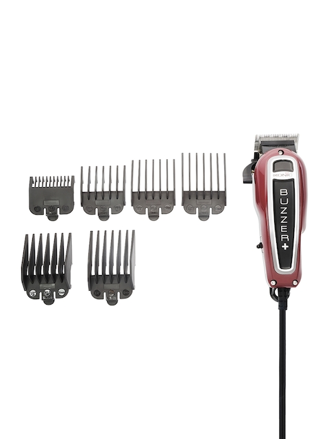 Ikonic Men Maroon Buzzer Corded Trimmer