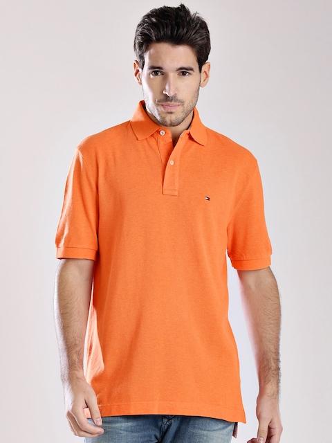 Tommy Hilfiger Orange Polo T-shirt