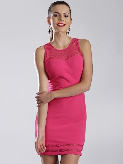 GUESS Pink Sheath Dress