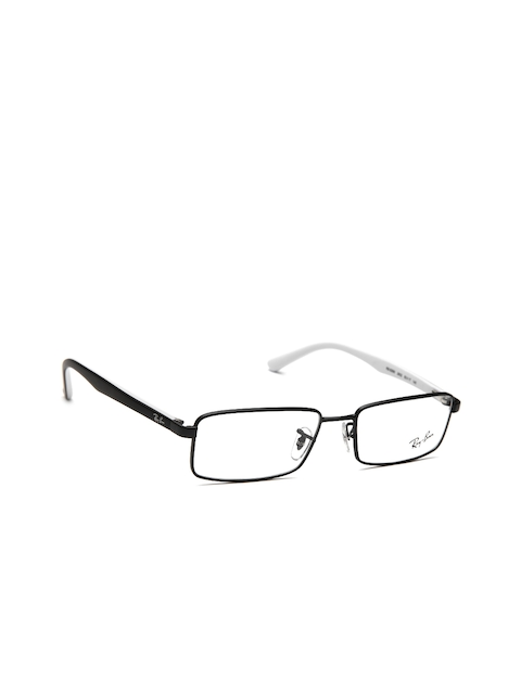Ray-Ban Unisex Black Rectangular Frames 0RX6268I280253