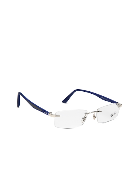 Ray-Ban Unisex Blue Rectangular Rimless Frames 0RX6326I250152