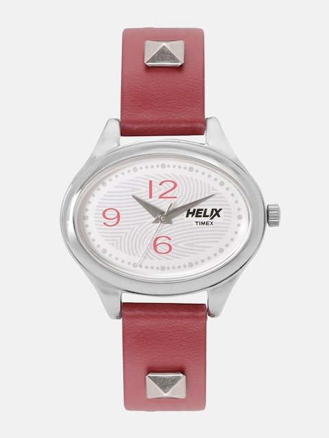 Helix By Timex Women Silver-Toned Analogue Watch TW0HL291H